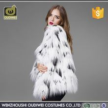 Professional made womens fur coat, good quality woman parka with fur