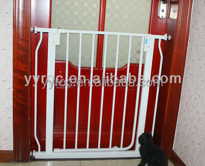 Swing baby safety gates