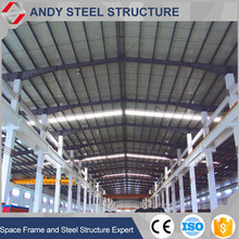 good quality professional design prefab steel fabrication warehouse