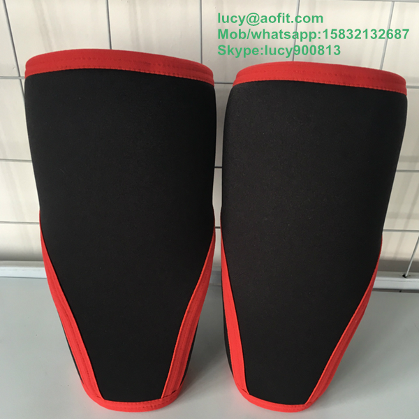 Manufacturer Supply Weight Lifting Knee Support Neoprene Performance Crossfit 7mm Knee Sleeve
