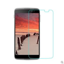 Mobile phone screen guard / 3 layer anti scratch screen protective film tempered glass for alcatel idol 4 / 6555B
