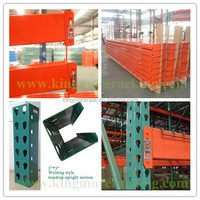 Hotselling teardrop pallet rack conform to RMI standard and passed ISO/CE/TUV/AS4084