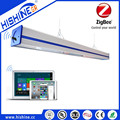 Trunking System Ceiling LED Linear High Bay Light 170lm/w,wiring-through connection