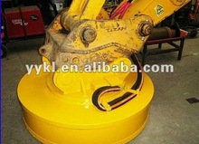 MW5 Series steel coils electric lifting magnets with generator excavator