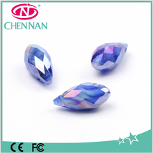 Crystal glass beads fashion jewelry accessories drop for chandelier