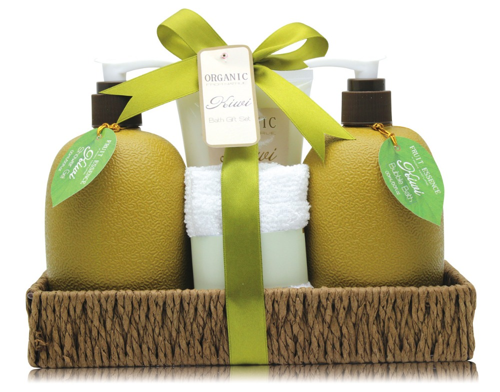 FDA CPSR Approved Christmas Gift Set with Shower Gel and Body Lotion