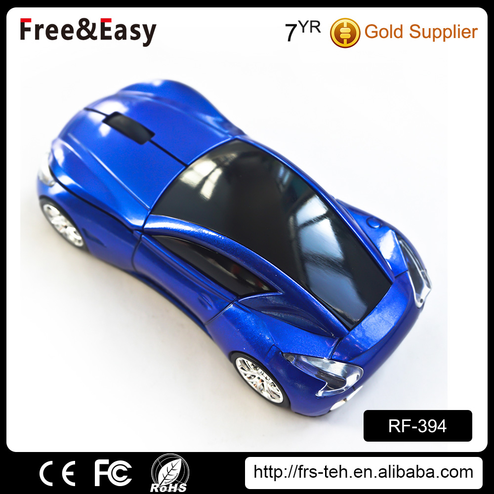 Fashion computer accessories car usb pc 2.4G mouse wireless