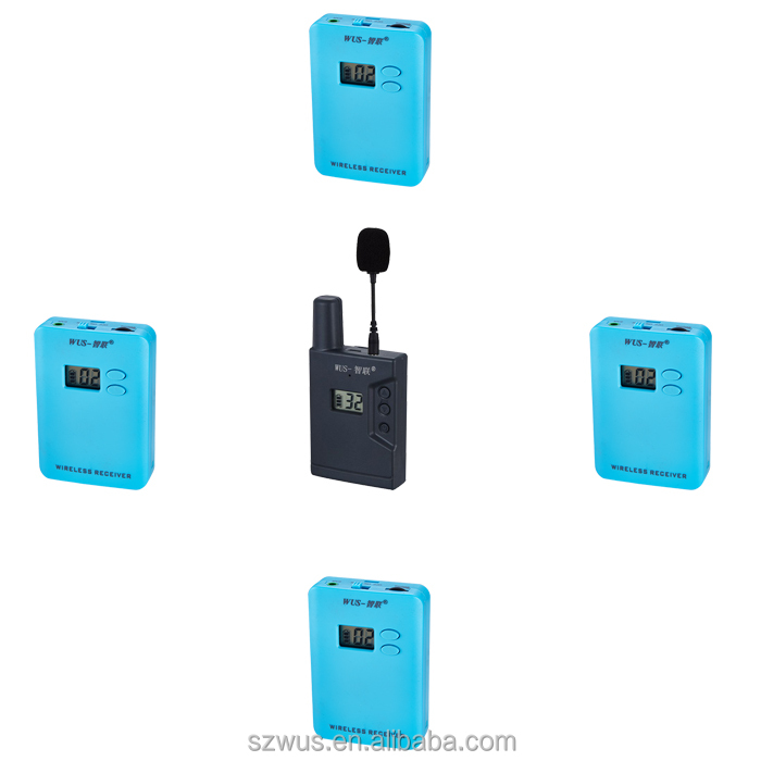 ZLWUS069RC mini Wireless Tour Guide System/radioguide/audio Guides For Visiting Museum/training/government/hajj/meeting/church