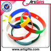 Durable in use personalized silicone hand band with segment colour