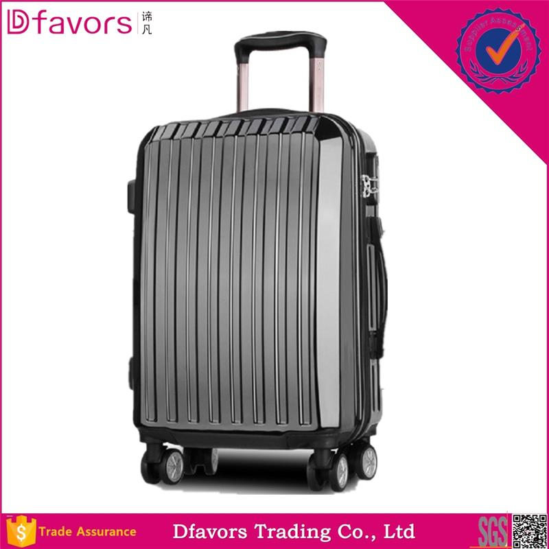 Hot selling spandex protective cover for suitcase travel luggage set trolley abs pc luggage with great price
