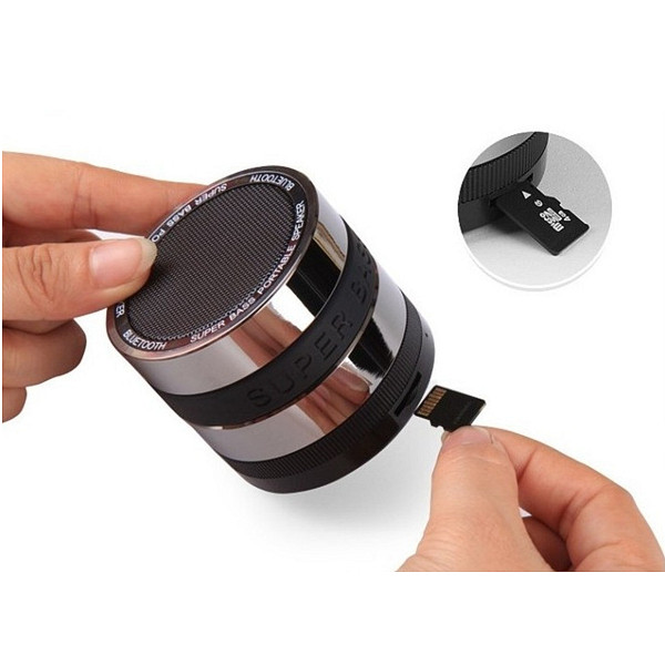Luxury metal alloy radio speaker mini digital speaker computer speaker from shenzhen