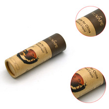 Black recycled customized chocolate cardboard cylinder packaging box round paper boxes