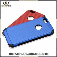 Factory wholesale popular carbon fiber grain phone cover