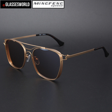 High quality metal sunglasses with polarized sun glasses of custom logo