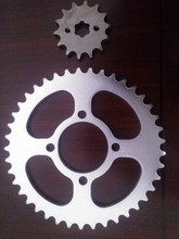 motorcycle part for sprocket and chain