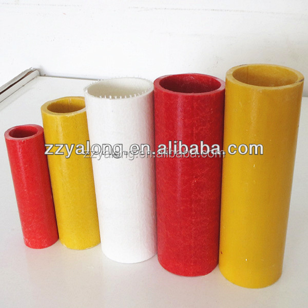 GRP pipe specification:6.9mm to 51mm glass fiber tube