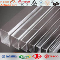 AISI 316L china manufacturer finish stainless steel square bar
