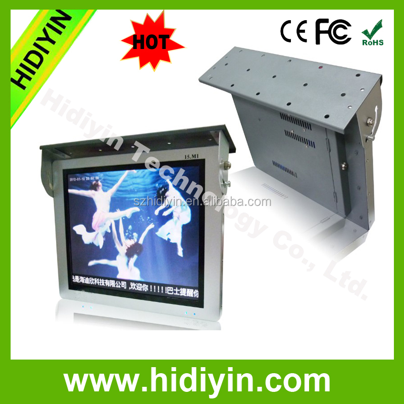 "15""/19""/22""android wifi split interactive led advertising player 3G/GPS bus handle advertising"