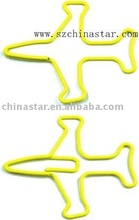 Special airplane shape paper clip