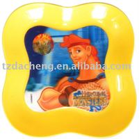 Colored High Quality Custom 3D Plastic Tray