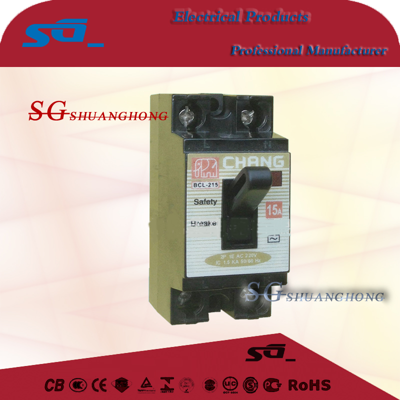 NT50 BCL-2 CHANG Southeast Asia safety circuit breaker