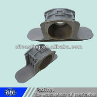 bearing block carbon steel cnc machining water glass sand casting products