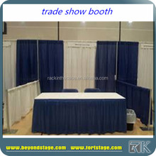 RK Custom Pipe And Drape Can Put Your Company Name/trade show booth
