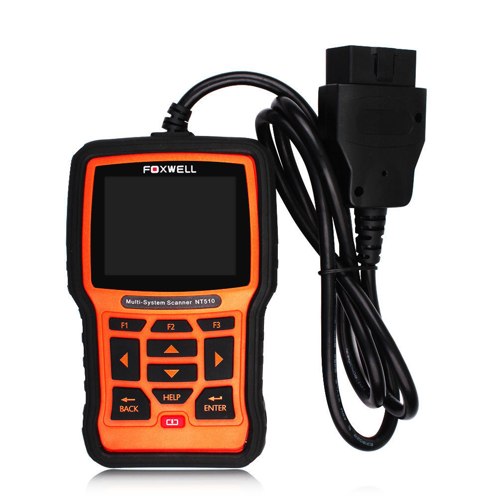 Foxwell NT510 Fit For mult-cars Professional Universal Car Diagnostic Tool OBD2 Code Reader Scanner