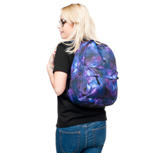 new design 3D printings galaxy school backpack for girls