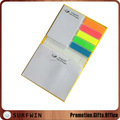 Custome Hardcover combination sticky notepad