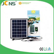 low price china 5V1.2A solar battery fan hat for mobile