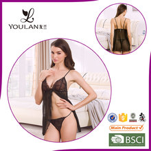 20 Years Manufacturer Seductive Different Western Style Hot Sexy Transparent Nighty Sexy Lingerie