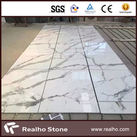 Calacatta White Man Made Artificial Stone