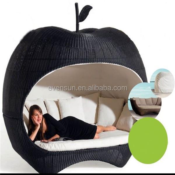 gartenm bel rattan apfel bett rattan korbsofa produkt id 60196243055. Black Bedroom Furniture Sets. Home Design Ideas