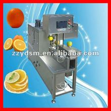 automatic stainless steel citrus/orange /guava peeling and slicing machine