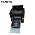 2017 a3 flatbed digital flatbed led uv printer price	competitive price in hot sale