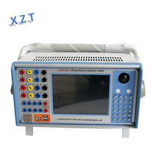 Electrical lab equipment 6 phase Microcomputer Relaying Protection Tester