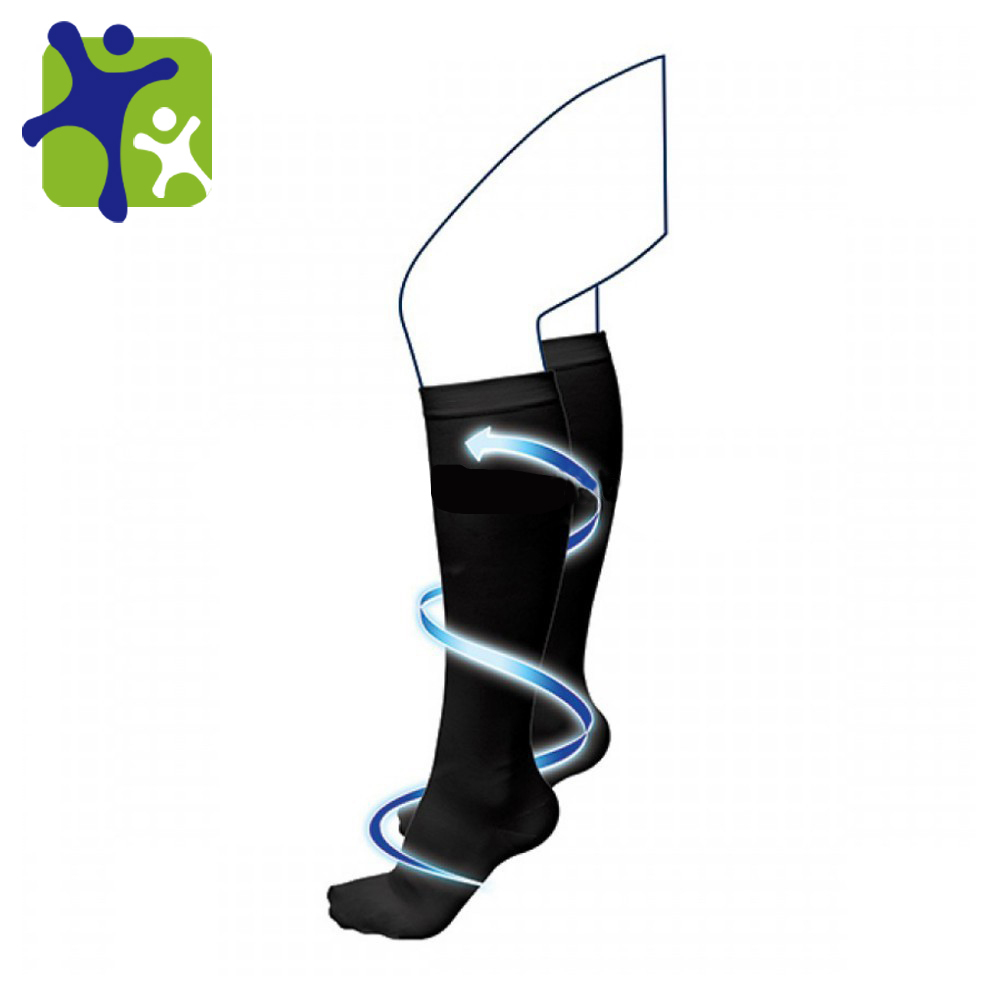 WHOLE SALES compression socks, black and white color miracle socks, compression socks in stock