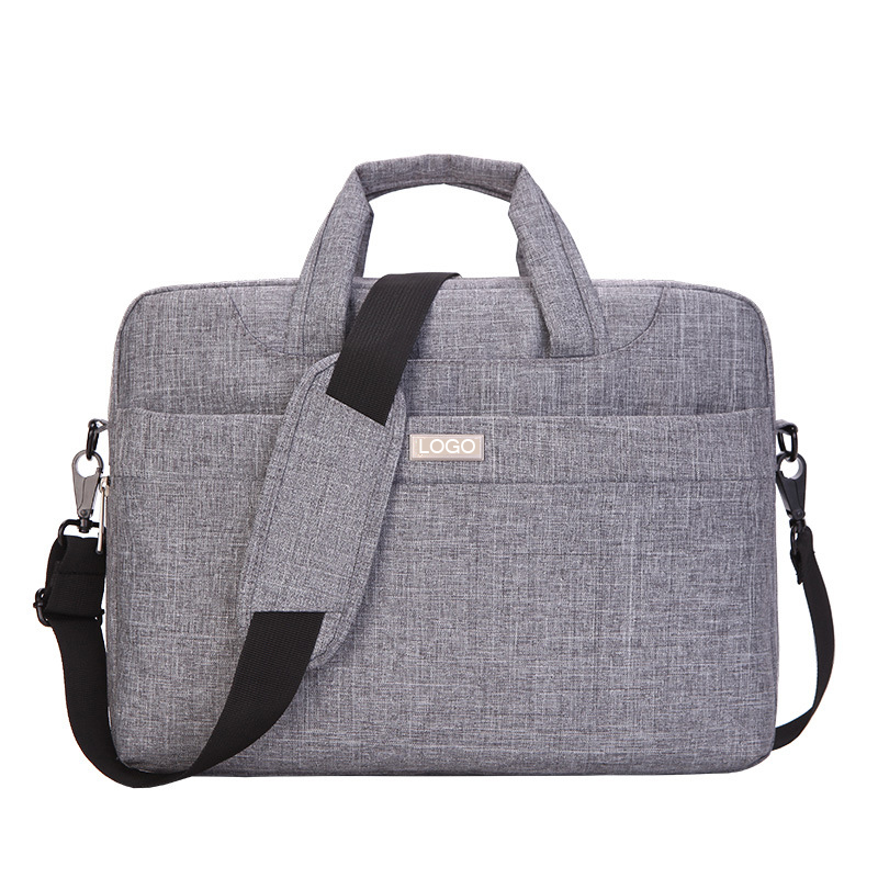 custom oxford 14 15.6 inch sleeve laptop briefcase bag mens