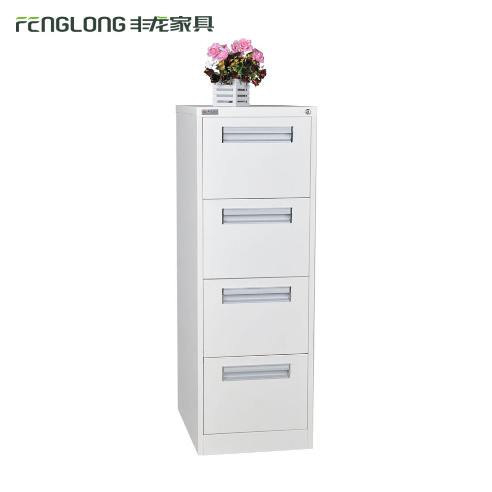 Cheap Steel Office Furniture cabinet / 4 Drawer Vertical Steel File Cabinet