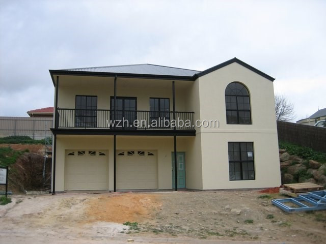 China Best design Luxury prefabricated villa house,movable houses for sale