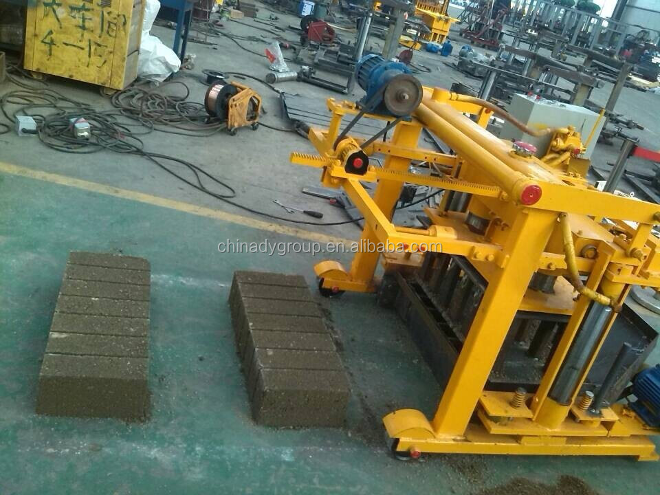 Botswana low investment high profit business qt40-3a brick machine for small investors