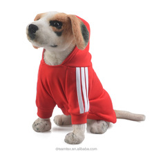 Wholesale dog hoodies sweatshirt clothes of dog pet accessory