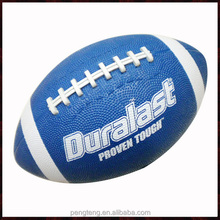custom made size 6 rubber american football, world map soccer ball