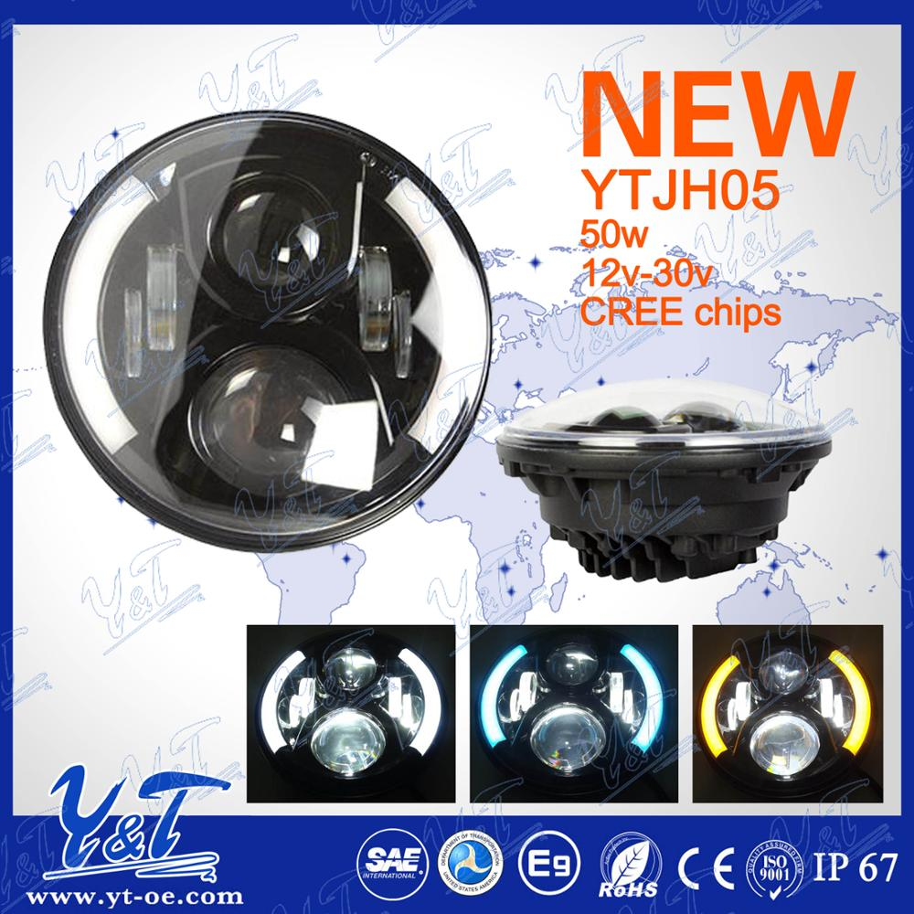 Brand-new item 9inch round off road led driving light spot beam flood beam 150cc light weight motorcycle led