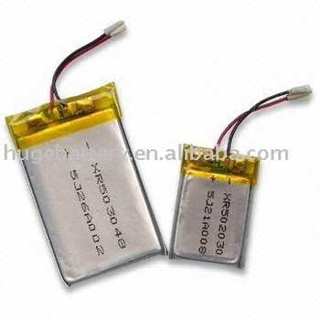 3.7V rechargeable high quality Li-polymer battery
