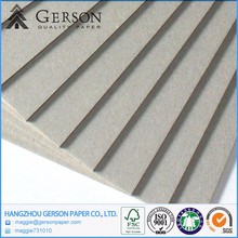 Gold Supplier China 2mm Grey Paper Board