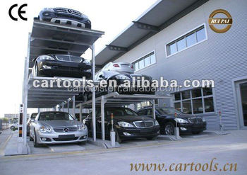 3 level vertical parking system