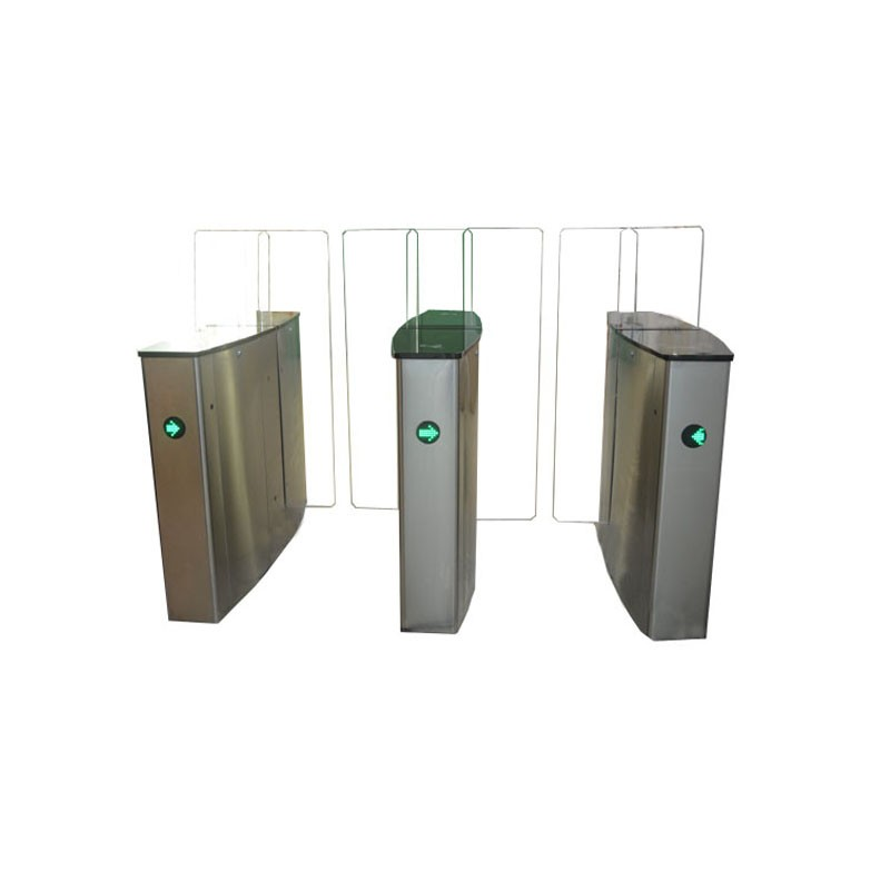 automatic sliding barrier for office building in access control system with time attandance software