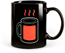 wholesale ceramic color changing mugs for coffee